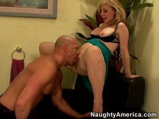Sexy Momma Nina Hartley Takes Her Lovers Pecker In Her Throat Like A Lollipop