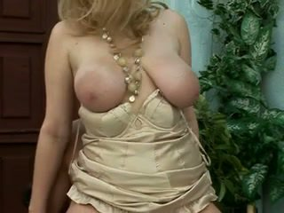 Beautiful saggy blonde milf