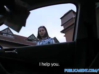Publicagent hd gira morena russa é fodido contra meu carro