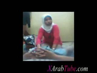 Hijab कॉक मसाज