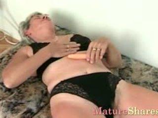 granny, masturbation, panties