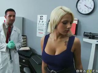 sucking cock, fucked, brazzers, big ass, doctor, busty babes