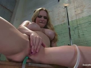 Anal Antics Aiden Starr Fucks Her Own Ass With Water