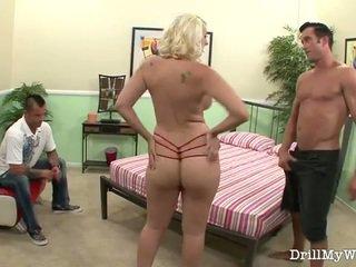 mature, wife, blonde