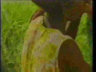 millésime, africain, ébène