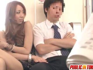 japanisch, sex in der öffentlichkeit, milf sex