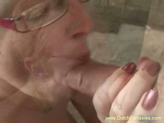 Blonde Dutch MILF with Glasses Fuck, Free Porn e0