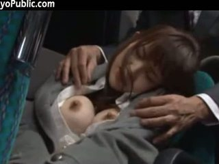 Asian Lady Banged And Cummed In The Bus Bathroom