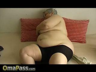berumur, nenek, lemak