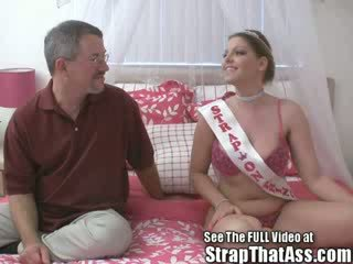 Robbie Gets A Gaping Asshole From The strapon Princess aka: Candi Apple