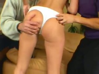 group sex, shaved pussy, facials