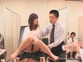 japanese, leker, gruppe sex