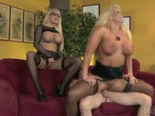 Alura jenson و jacky joy two كبير titted blondes having shaged
