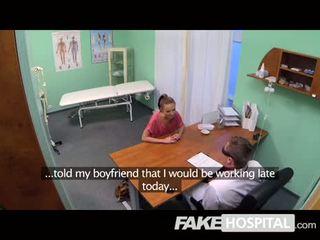 Fake Hospital - Patient returns craving cock