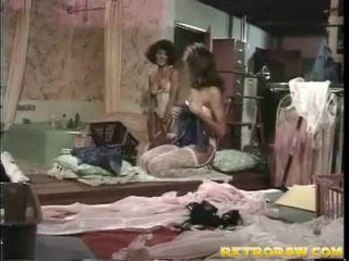 sexo lésbico, lésbica, porn retro