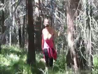 Kelly madison loves hubungan intim di itu woods