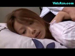 בוגר אישה rapped כוס fingered מזוין ב the מיטה