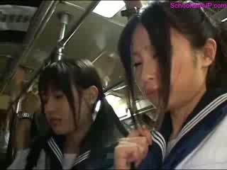 schoolgirl, public, vid2c