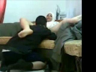 Arab jüdisch mädchen im büro mit sie auftraggeber