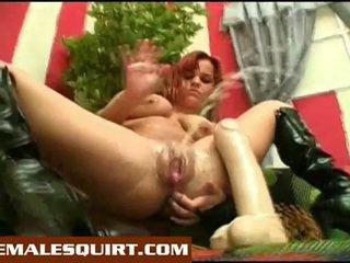 সেক্সি মেয়ে গরম solo squirting masturbations