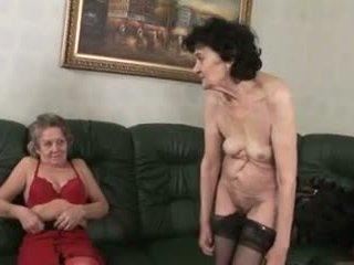 lesbian, nenek, jatuh tempo