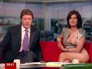 Susanna reid playing with bayan mainan on breakfast tv