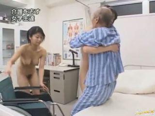 japanse, pijpbeurt, oosters