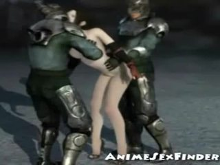 3d Girl Banged By Warriors!