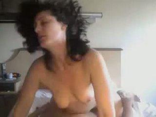 Amatör par knull i personligt hemgjort video-