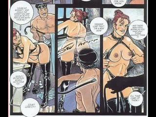 bandes dessinées, bdsm art