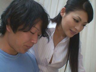 Pojat gets lisää kuin auttaa varten hänen studies alkaen kuuma opettaja vauva