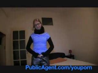 Publicagent blondýna vysoká škola dievča fucks ma na ju študent apartment