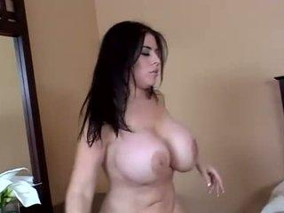 bruneta, vaginální sex, anální sex