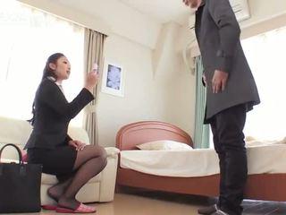 Reiko kobayakawa dráždenie než rimjob asshole súložiť