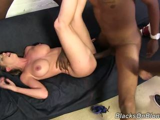 Outstanding Miss Brooklyn Chase Have Band Pounde By Several Darky Fellows