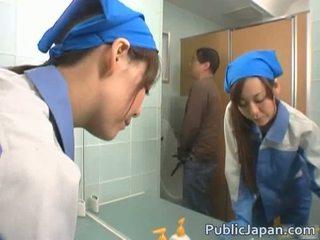 Aasia executive tüdruk perses sisse a avalik buss tasuta video