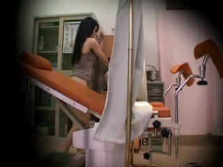 Gynecologist مخفي spycam