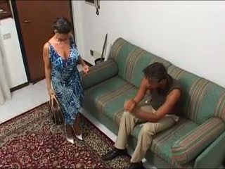 Une maman demonter par sohn mec et sohn fils