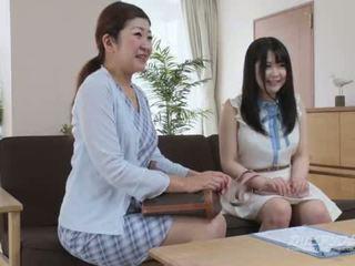 japānas, klausīšanās, masturbēt