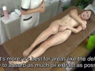 Subtitled enf cfnf japonez lesbian clitoris masaj clinic