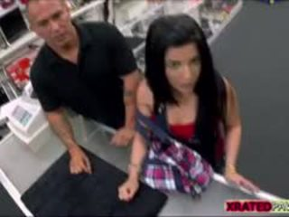 Hot Sexy Brunette Cuban Gets Fucked Hard