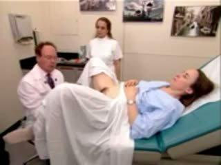 الطبيب, منظار, gyno