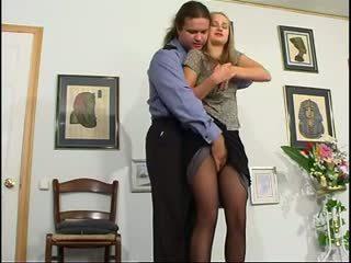 szőke, anális, orosz