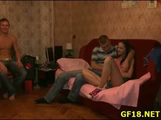 Guy bangs her as Rough as nobody ever ...