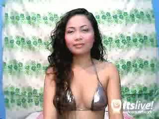 Kinesiska youngster female seducing