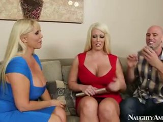 Karen fisher і alura jenson sharing a пеніс