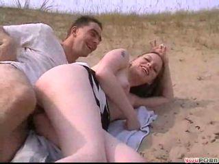 Amateurs couple like beach fuck Video