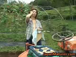 Chisato shouda aziāti pieauguša mazulīte gets part6