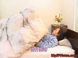 Bunko kanazawa еротичен азиатки медицинска сестра teaches
