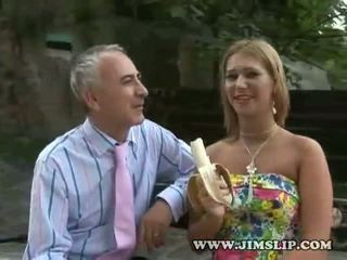Linda takes spanked